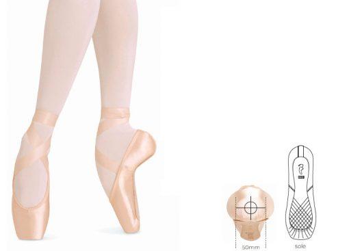 puntas de ballet balance european strong