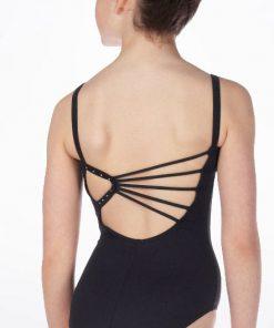 Maillot Ballet Niña So-Danca Diamantes Espalda