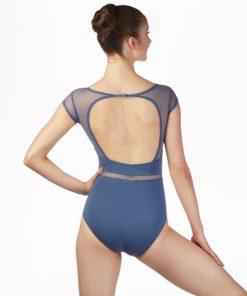 Maillot Capezio Manga Corta de Ballet