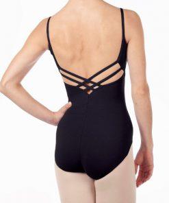 maillot de ballet capezio v-neck camisole