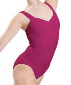 maillot de ballet capezio wide strap