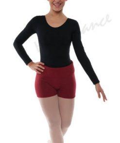 Pantalón Calentador Ballet Happy Dance Corto Acrílico