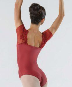 Maillot Bordado Justine Ballet Rosa