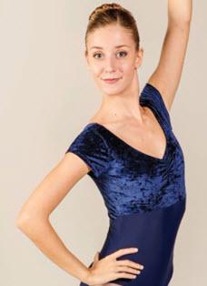Maillot Ballet Manga Corta Ballet Rosa Venice