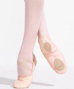 Zapatillas Ballet Cuero Capezio