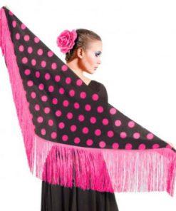 Mantoncillo Flamenco de Lunares CHD