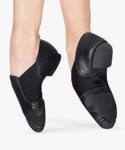 Zapatillas Jazz Capezio Piel E-Series Jazz Slip On