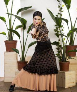 Sobre Falda Flamenca Davedans Grazalema