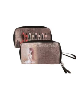 Cartera Monedero Dance Distribution Large Zip