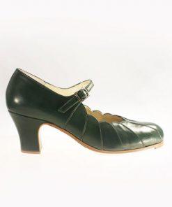 Zapatos de Flamenco Mujer Begoña Cervera Acuarela