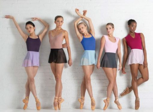 Falda Ballet Rosa Tomomi
