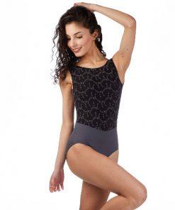 Maillot Bordado Ballet Rosa Lorrelle