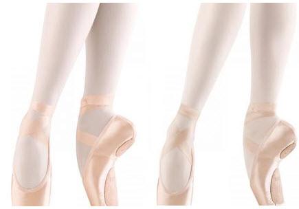 puntas de ballet suela partida