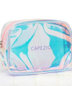 Neceser Holographic Makeup Bag Capezio
