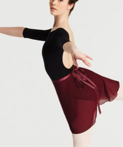 Falda Ballet Capezio Georgette Wrap Skirt