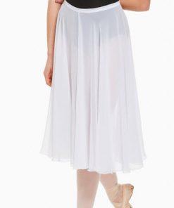 Falda Ballet Capezio Mid Calf Full Circle Skirt