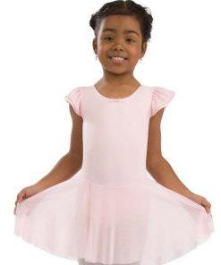 Vestido Flutter Sleeve Dress Capezio Child