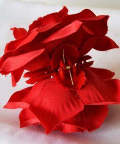 Flor de Flamenca Grande con Pinza CHD