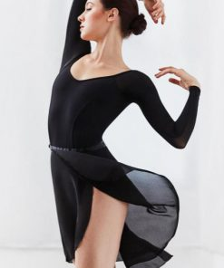 Falda Ballet Capezio Georgette Long Wrap Skirt