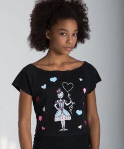 Camiseta Danza Cancon Love El Petit Ballet