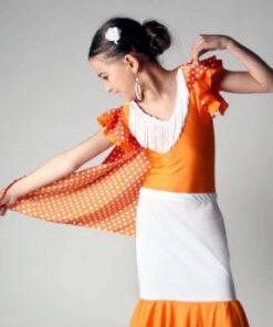 Mantón de Baile Flamenco Davedans Niña