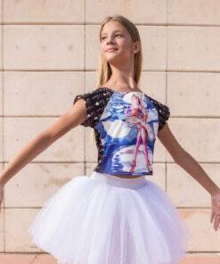 Camiseta Danza Caim Chica El Petit Ballet