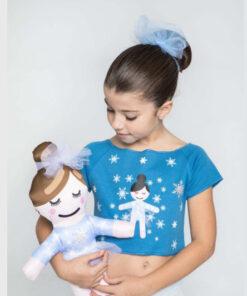 Camiseta Danza Cancon Snow El Petit Ballet