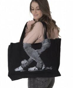 Bolsa de Ballet Black Shopper Bag Like G.