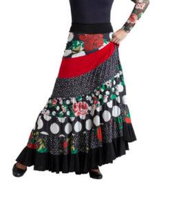 Falda Flamenca 5 Piezas Happy Dance