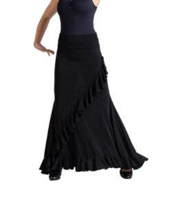 Falda Flamenca Volante Diagonal Happy Dance