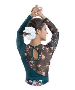 Maillot Flamenco Cuello Caja Happy Dance