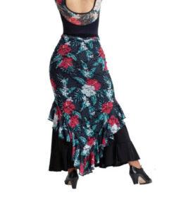 Sobre Falda Flamenca Pico Happy Dance