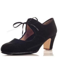 Zapatos de Baile Flamenco Happy Dance Amateur Cordón