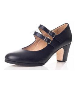 Zapatos de Baile Flamenco Happy Dance Profesional Doble Tira