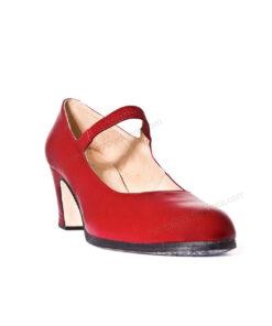 Zapatos de Baile Flamenco Happy Dance Profesional Goma Piel