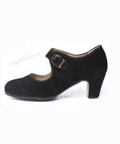Zapatos de Baile Flamenco Happy Dance Amateur Hebilla Ancha