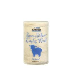 Lana de Cordero para Puntas Spun Silver Lamb´s Wool Capezio
