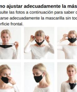 Mascarilla Ballet Protección Almohadilla Nasal Ajustable de Bloch