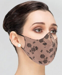 Mascarilla Adaptable Ballet Protección con Estampado Wear Moi