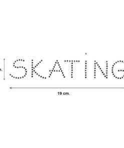 Adhesivo Skating Diamond Patinaje Artístico Intermezzo