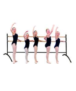 Barra Ballet Doble Grupal Portátil Amaya Sport