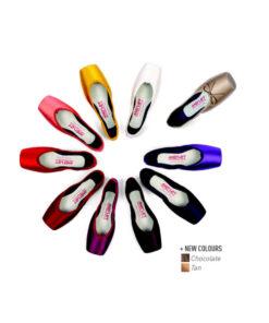 Puntas de Ballet Colores CRYSTAL Marca Merlet