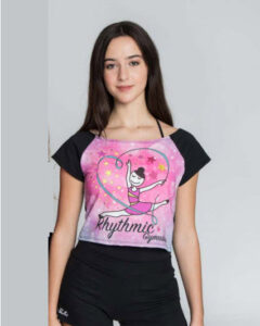 camisetas gimnasia ritmica