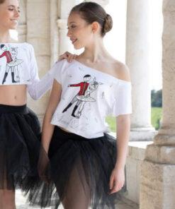 Camiseta Danza Cancon Plumas El Petit Ballet