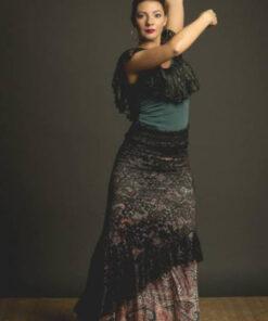 Sobre Falda Flamenca Davedans Serrada